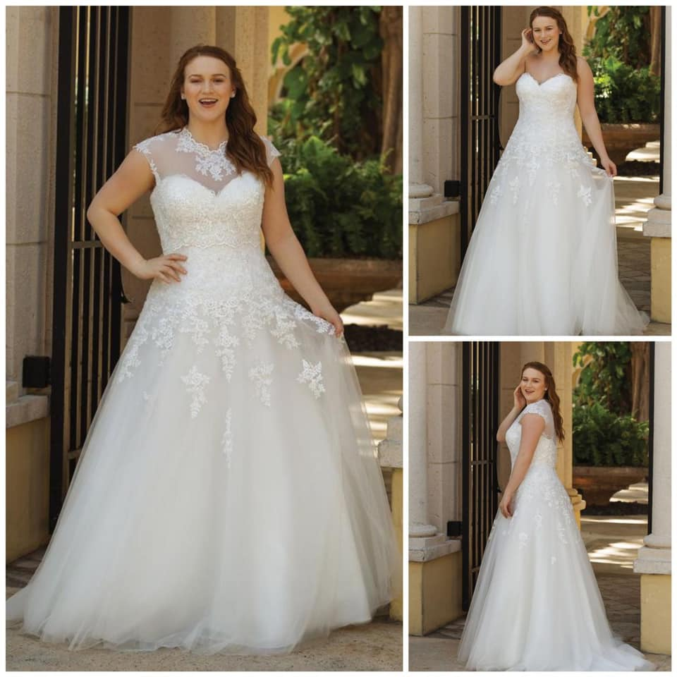 best website retro diversified in packaging Plus Size Wedding Dresses for Fuller Figure Brides in the UK